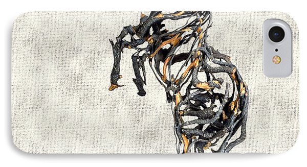 Statue Of Branches 2 IPhone Case