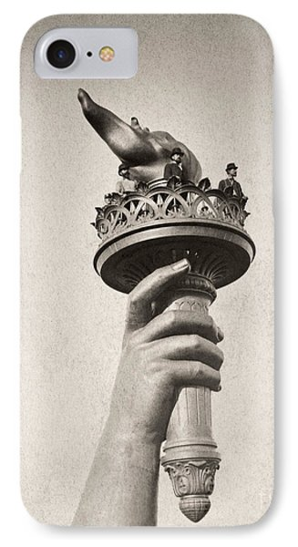 Statue Of Liberty, 1876 Phone Case by Granger