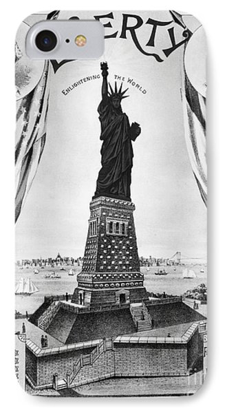 Statue Of Liberty, 1885 Phone Case by Granger