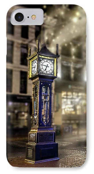 IPhone Case featuring the photograph Steam Clock by Jim  Hatch