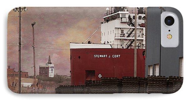 Stewart J Cort IPhone Case by David Blank