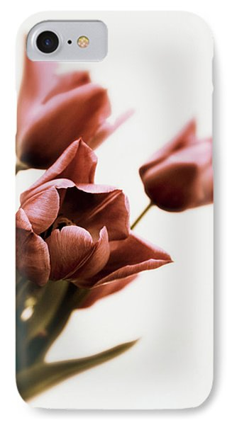 IPhone 7 Case featuring the photograph Still Life Tulips by Jessica Jenney