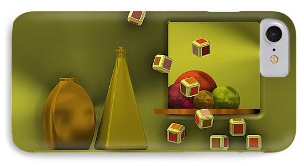 Still Life With Cubes IPhone Case