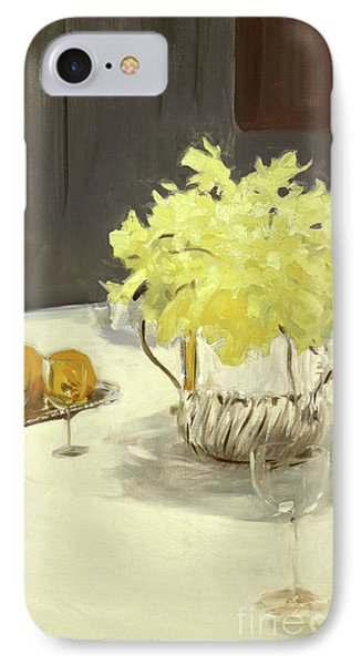 Still Life With Daffodils IPhone Case by John Singer Sargent