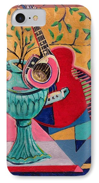 Still Life With Sound Phone Case by Dennis Tawes