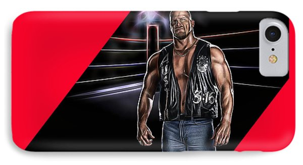 Stone Cold Steve Austin Wrestling Collection IPhone Case
