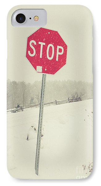 IPhone Case featuring the photograph Stop by Edward Fielding