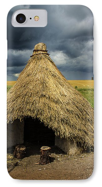 Straw Huts IPhone Case by Martin Newman