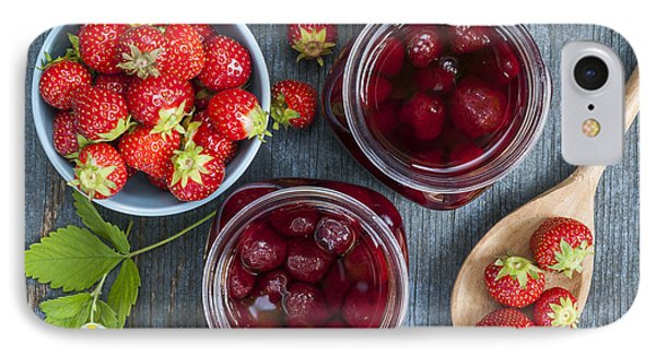 Strawberry Preserve IPhone 7 Case by Elena Elisseeva