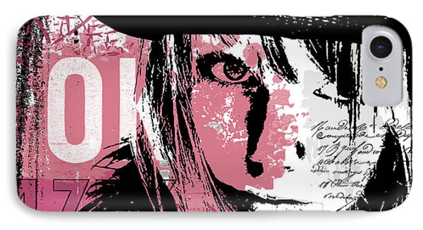 Stronger In Pink IPhone Case