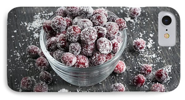 Sugared Cranberries IPhone Case by Elena Elisseeva