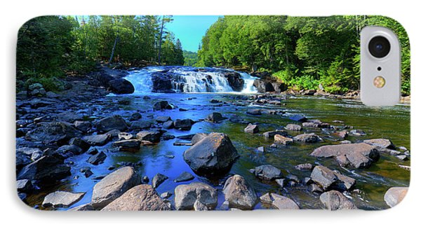 Summer At Buttermilk Falls IPhone Case by David Patterson