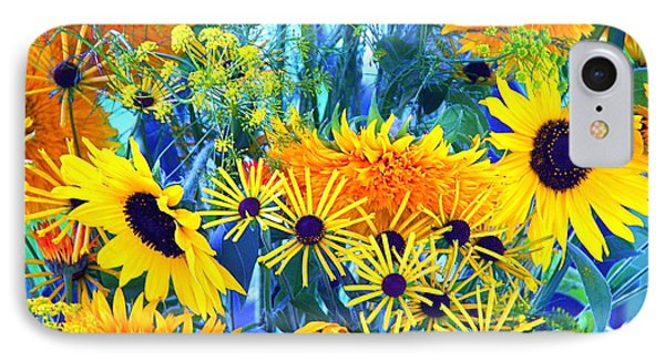 IPhone Case featuring the photograph Summer Bouquet by Byron Varvarigos
