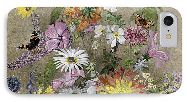 Summer Flowers Phone Case by John Gubbins