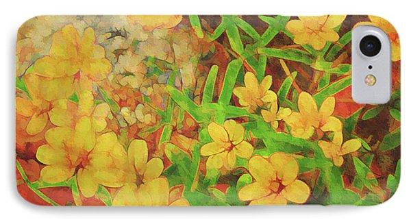 Summer Garden IPhone Case by Ann Powell