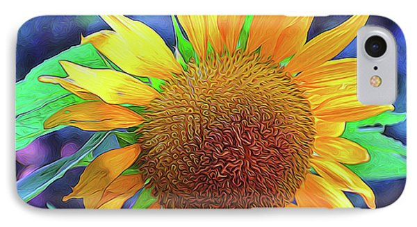 IPhone Case featuring the photograph Sunflower by Allen Beatty