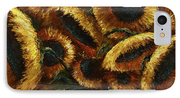 Sunflowers Phone Case by Michael Lang