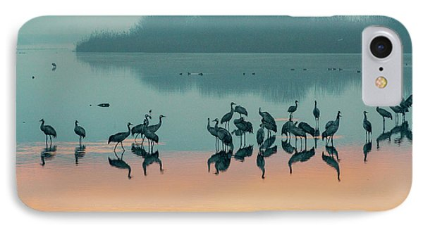 Sunrise Over The Hula Valley IPhone 7 Case by Dubi Roman