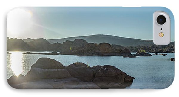 Sunrise Panorama - Watson Lake IPhone Case