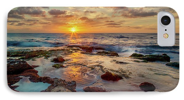 IPhone Case featuring the photograph Sunset At La Jolla  by Rikk Flohr