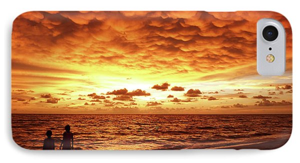 IPhone Case featuring the photograph Sunset Before The Storm by Melanie Moraga