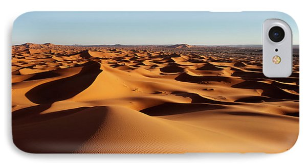 Sunset In Erg Chebbi IPhone Case