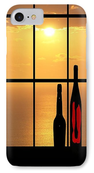 IPhone Case featuring the photograph Sunset In Hawaii by Athala Carole Bruckner