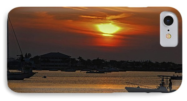 IPhone Case featuring the photograph 1- Sunset Over The Intracoastal by Joseph Keane