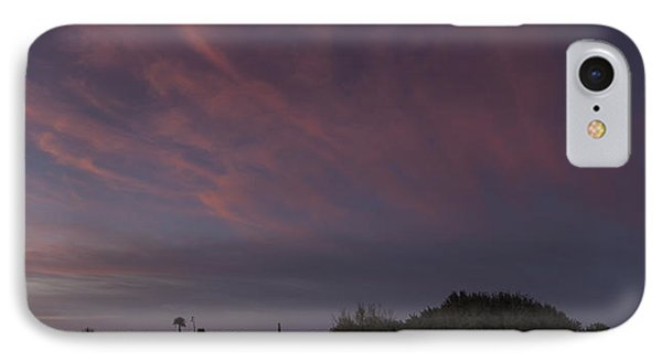 Sunset Over The Wetlands IPhone Case