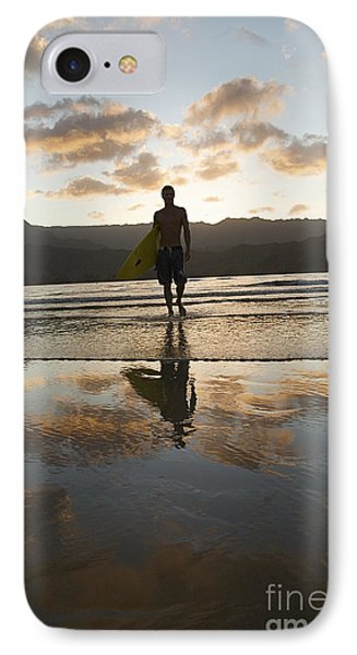 Sunset Surfer Phone Case by Kicka Witte - Printscapes