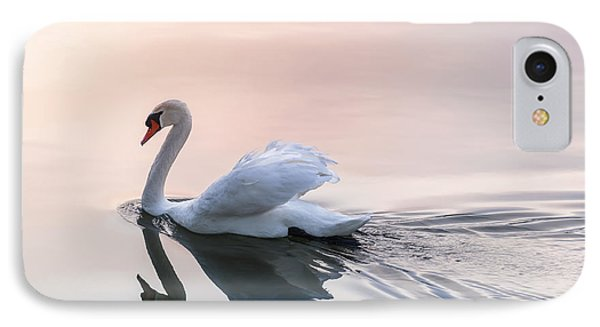 Sunset Swan IPhone Case by Elena Elisseeva