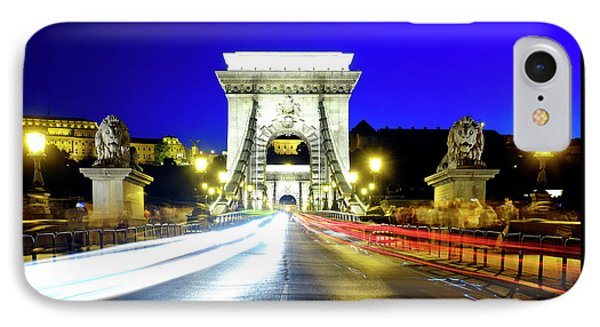 IPhone Case featuring the photograph Szechenyi Chain Bridge by Fabrizio Troiani