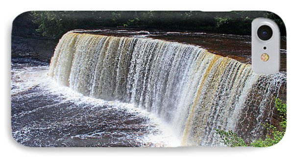 Tahquamenon Upper Falls IIi IPhone Case by Michiale Schneider