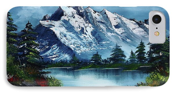 Mountain iPhone 7 Case - Take A Breath by Barbara Teller