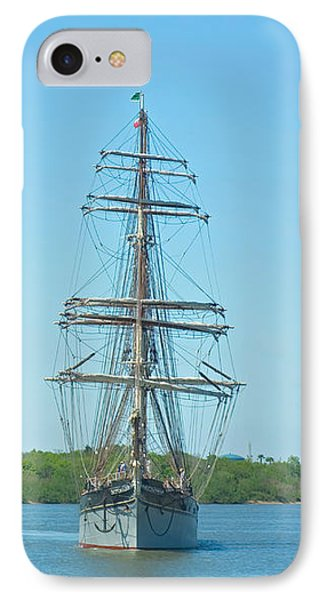 Tall Ship Elissa IPhone Case