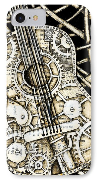 Tangle Guitar Phone Case by Delein Padilla