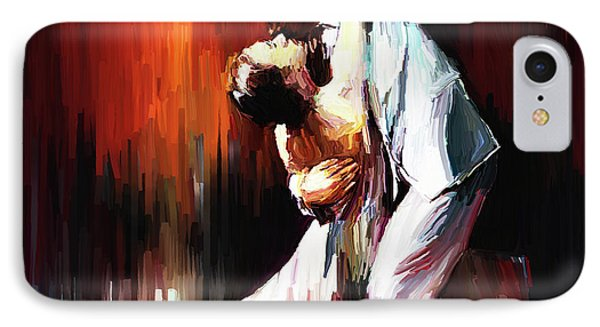 Tango Couple Dance 01 IPhone Case by Gull G