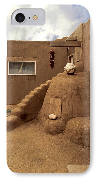 Taos Pueblo Phone Case by Jerry McElroy