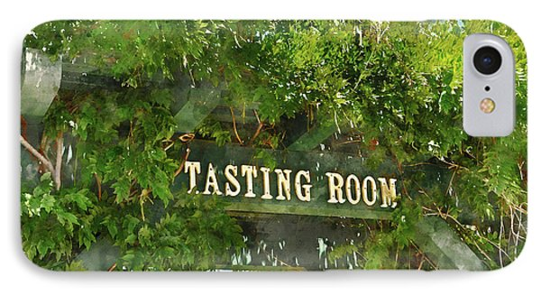 Tasting Room Sign IPhone Case