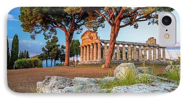 Temple Of Athena Columns IPhone Case