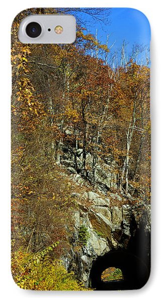 Tennessee Tunnel IPhone Case by Skip Willits