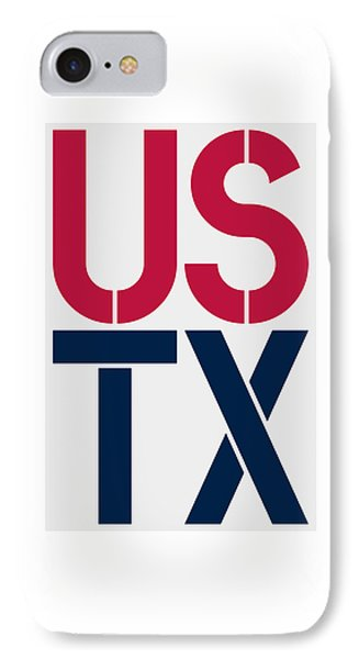 Texas IPhone Case by Three Dots