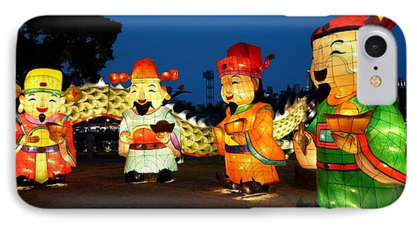 IPhone Case featuring the photograph The 2017 Lantern Festival In Taiwan by Yali Shi