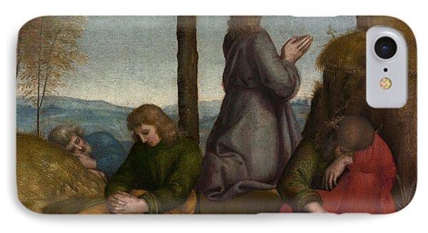 The Agony In The Garden IPhone Case by Raphael