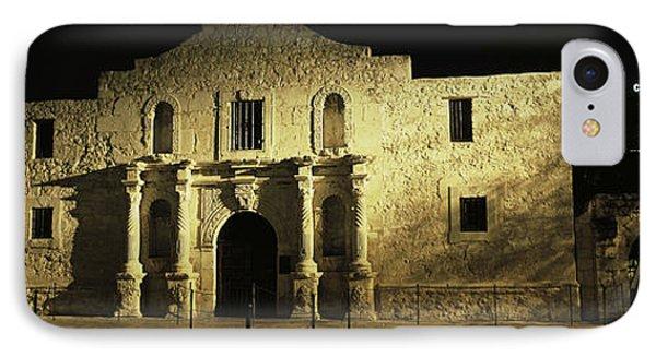 The Alamo San Antonio Tx IPhone Case by Panoramic Images