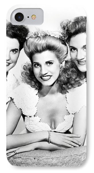 The Andrews Sisters Phone Case by Granger