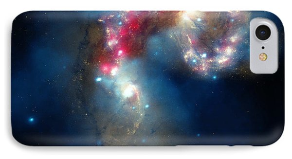 The Antennae Galaxies IPhone Case by American School