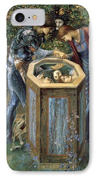 The Baleful Head IPhone Case by Edward Burne-Jones