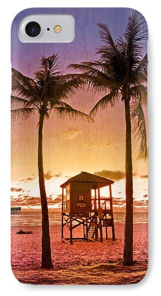 The Beach Phone Case by Debra and Dave Vanderlaan