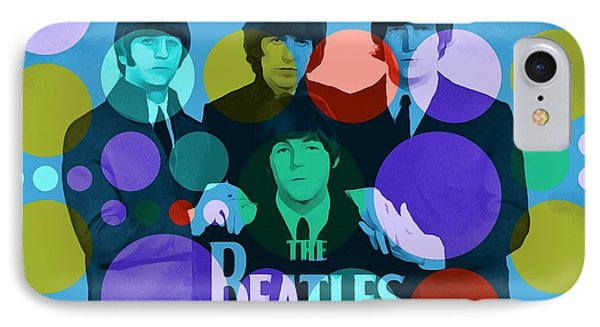 The Beatles IPhone Case by Dan Sproul